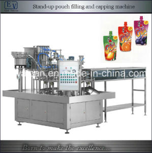 Pre-Formed Stand up Pouch Machine with Cap Liquid Filling Machine pictures & photos