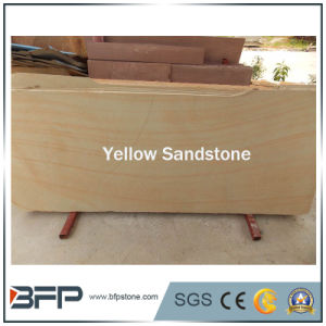 Golden Natural Stone/Sandstone Tile for Swimming Pool Coping/Pool Paving pictures & photos