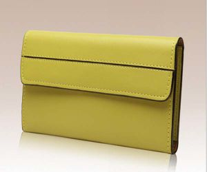 Leather Purse Fashion Women Wallet (XQ0530) pictures & photos