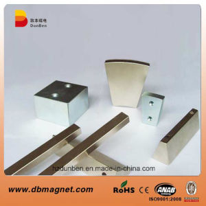 Segment Rare Earth NdFeB Industrial Magnet N50 pictures & photos