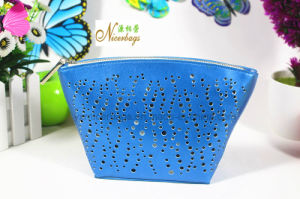 New Design Hollow out Pattern PU Cosmetic Bag for Ladies pictures & photos