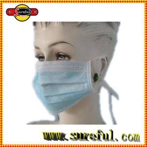 Non Woven Surgical Face Masks with Tie and Earloop pictures & photos