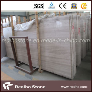Cheap Price Chinese White Wooden Marble Stone pictures & photos