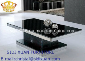 Home Furniture Stainless Steel Table for Coffee Table pictures & photos