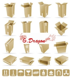 Shipping Boxes Cartons Packing Moving Mailing Box (PC017) pictures & photos