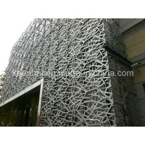 Exterior Pefrorated Metal Panel Aluminum Curtain Wall pictures & photos