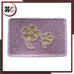 Popular PVC Design Door Mat with Latex Backing pictures & photos