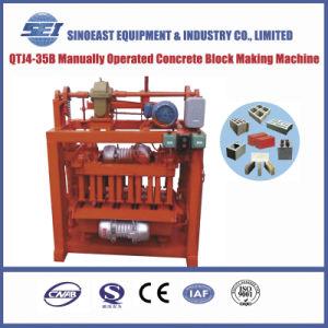 Qtj4-35b Manually Cement Concrete Block Making Machine pictures & photos
