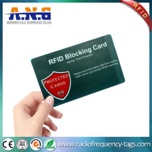 RFID Blocking Cards for Electronic Theft Protecting pictures & photos