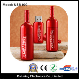 Wine Bottle USB Flash Disks, Advertising Pendrive (USB-009) pictures & photos