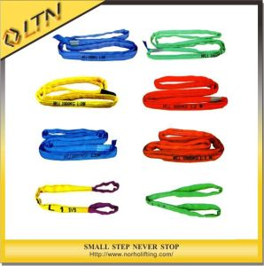 Polyester Double Eye Round Sling (NHRS-A) pictures & photos