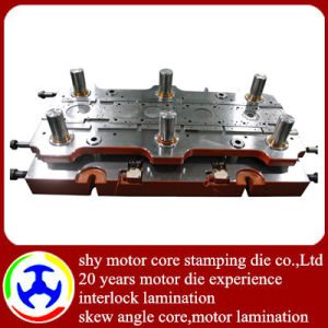 Hard Alloy Progressive Die for Rolling Door Motor Stator Rotor Core