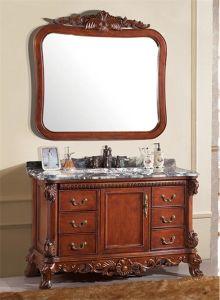 Classical Solid Wood Bathroom Cabinet Al6325