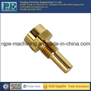 High Standard Polished CNC Machining Brass Part pictures & photos