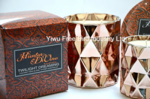 2016 Safety Printed Tin Luxury Candle for Sale