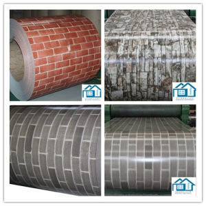 Factory New Design Brick Grain Prepaited Steel Coil (ZL-PPGI) pictures & photos