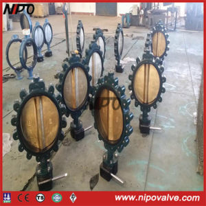 Cast Steel Lug Type Centre Sealing Butterfly Valve pictures & photos