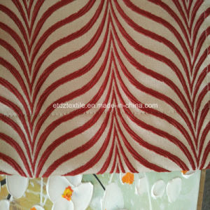 100% Polyester Shrinkage Yarn Jacquard Curtain Fabric in Well Drapes pictures & photos
