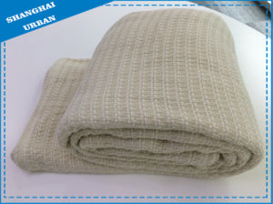 Synthetic Wool Bed Cover Throw Blanket pictures & photos