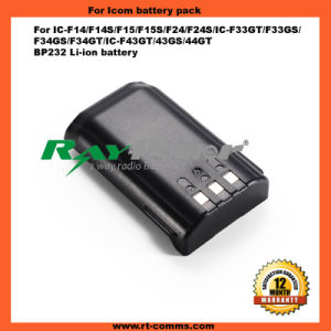 Two Way Radio/Walkie Talkie Battery for IC-F14/14s/15/15s pictures & photos