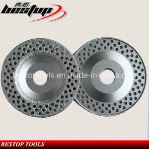 Vacuum Brazed Cup Shape Diamond Grinding Wheel for Concrete pictures & photos