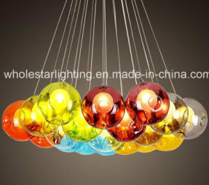 Modern Colorful Glass Chandelier Lamp (WHG-916) pictures & photos