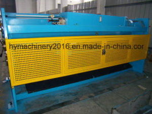 QC12Y-12X6000 Hydraulic Swing Beam Shearing Machine pictures & photos