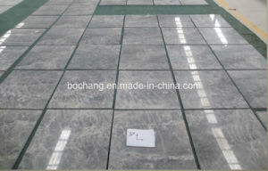 Polished Alloy Grey Marble Tile for Floor Wall pictures & photos