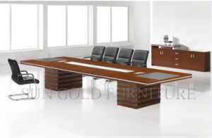 Melamine Meeting Table Commercial Conference Table Wooden Office Furniture pictures & photos