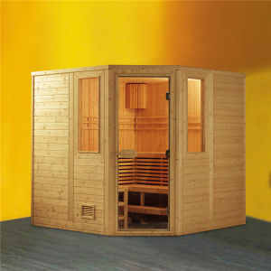 Monalisa Corner Position Curative Sauna Box (M-6006) pictures & photos