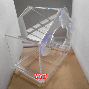 Large Acrylic Window Bird Feeder with Removable Tray pictures & photos