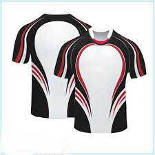 Sublimated White Blue Striped Design Rugby Jersey 2016 pictures & photos