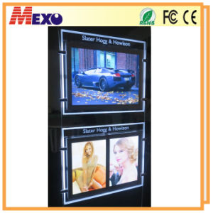Acrylic Board Design Restaurant Posters LED Advertisement Product pictures & photos