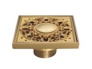 New Gold Floor Drain D001