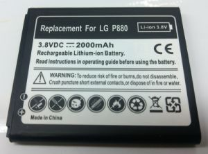 Mobile Phone Battery for LG P880 pictures & photos