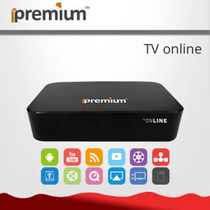 Full HD Media Player IPTV Internet TV Can Add The Customer′s Server pictures & photos