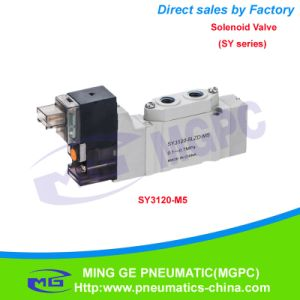 Pneumatic Solenoid Valve (SMC Type SY3120-M5)