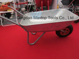Zinc Coated Galvanized Tray Wheelbarrow (Wb5206) pictures & photos