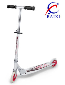 Aluminum Alloy Pedal Foot Scooters (BX-2MBC125) pictures & photos