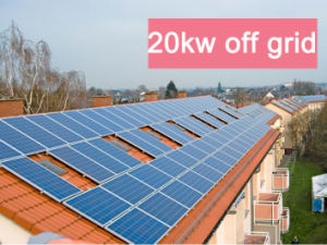 25kw off Grid Solar System pictures & photos