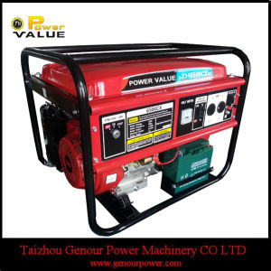 Power Value Portable Gasoline Honda Generator 5kVA Price pictures & photos