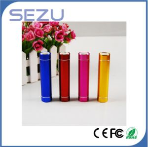 LED Mobile Phone Portable Light Power Bank 2600mAh for iPhone pictures & photos