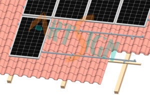 Solar Support Structure for Home Roof pictures & photos