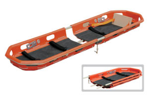 Rescue Helicopter Foldable Plastic Scoop Stretcher for Emergency First Aid