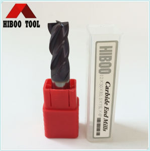 HRC55 China Hard Alloy Corner Raduis End Mill pictures & photos