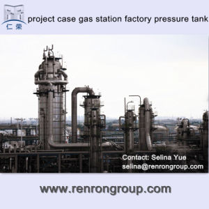 Engineering Project Cases Gas Station Factory Pressure Tank T-54