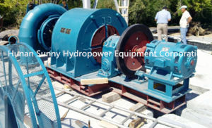 Hydropower Horizontal Turbine-Generator Medium Capacity 2~9.5MW / Hydropower Turbine / Hydro (Water) Turbine / Hydro Generator pictures & photos