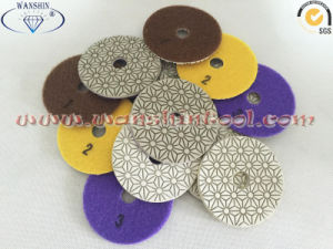 Hot Sell 3-Step Wet Polishing Pads for Granite Marble pictures & photos
