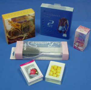 Customized Unbreakable Cosmetic PVC Plastic Box (folding box) pictures & photos
