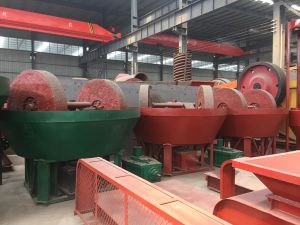 High Output Wet Pan Mills/Mining Ore/Gold Grinding Machine pictures & photos